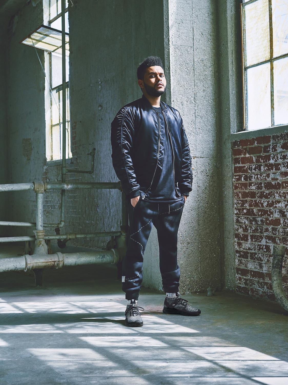 The Weeknd hvězdou v nové kampani Puma