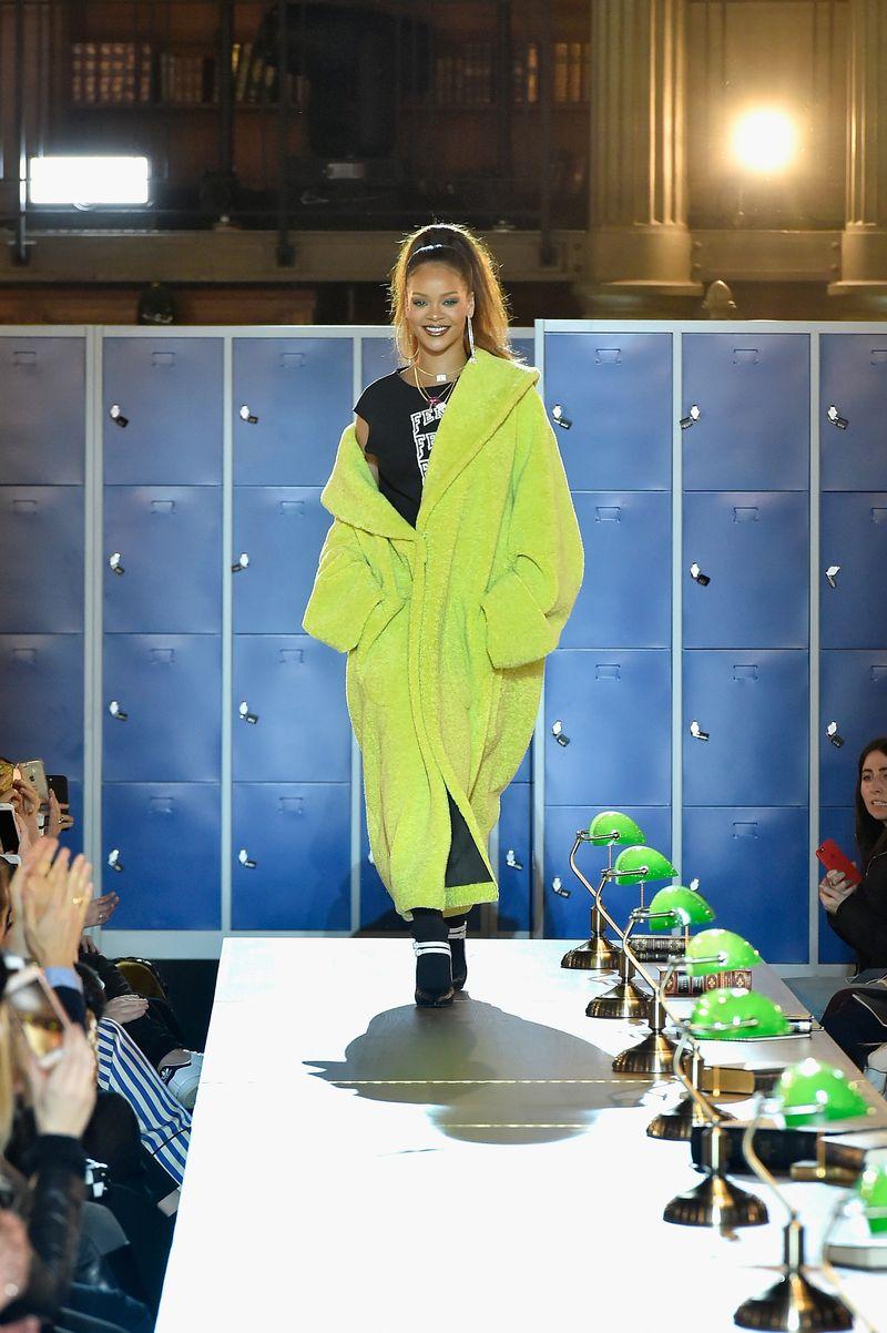 V Paříži byla odhalena nová kolekce Fenty Puma by Rihanna podzim/zima 2017