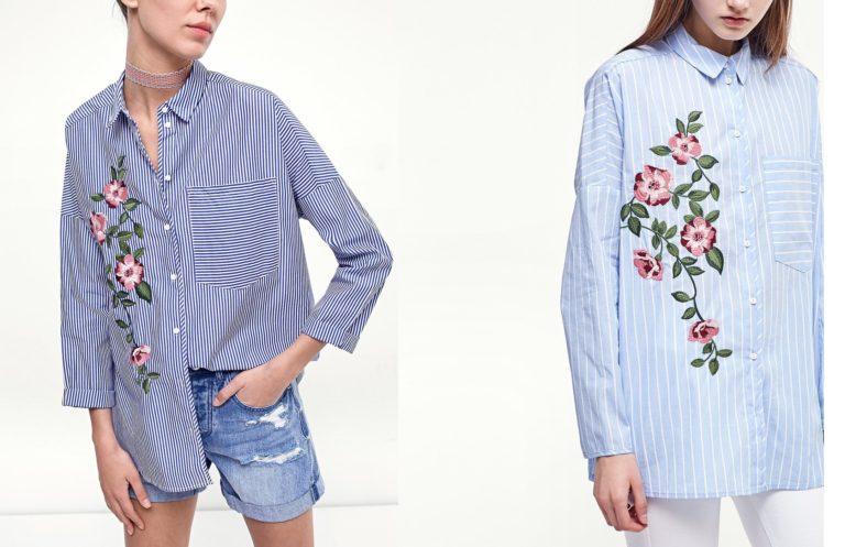 Horký trend jara a léta  výšivky ⋆ Fashionising 1cd5c9be21