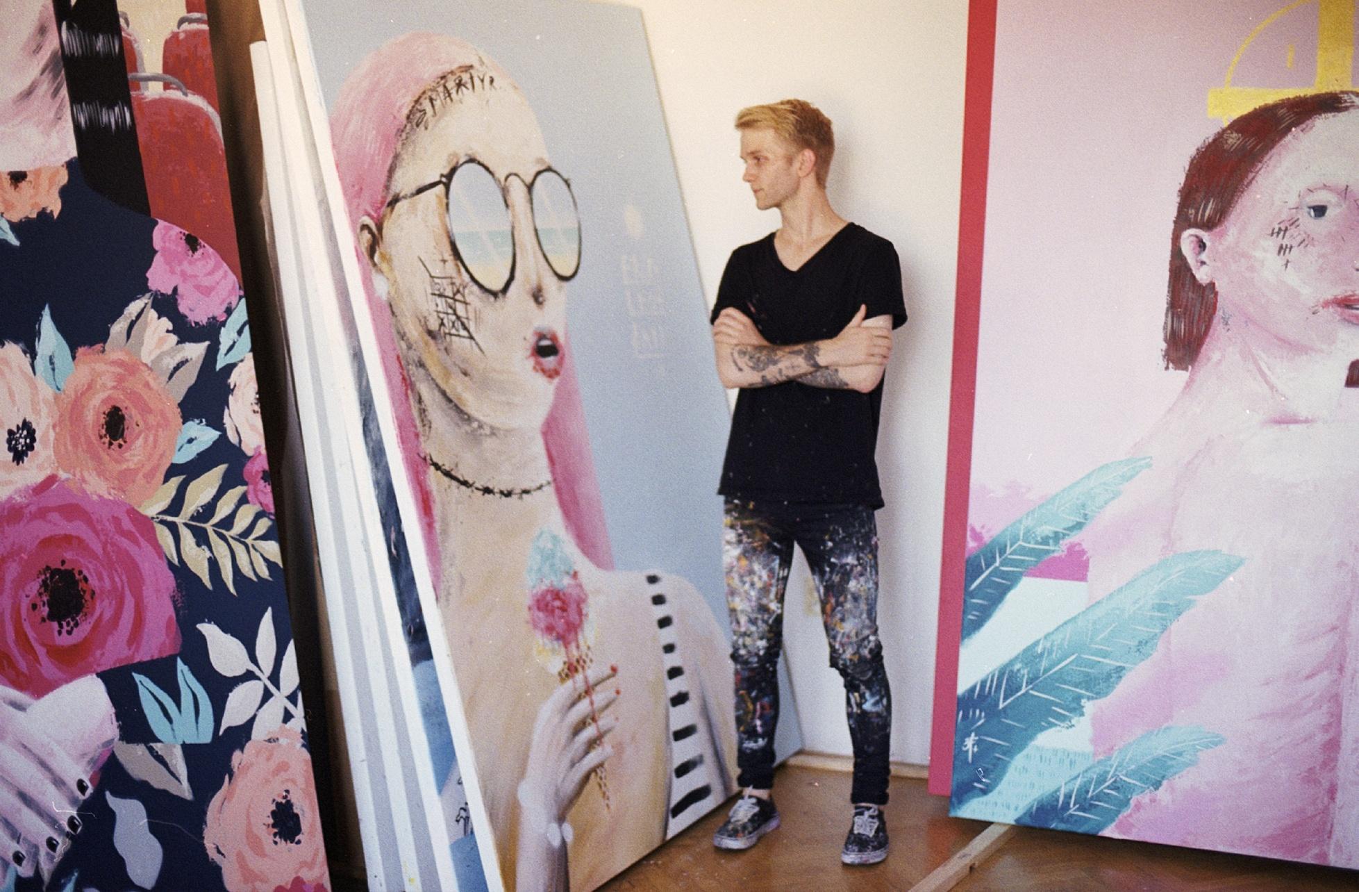 Galerie co hledá jméno hostí výstavu Dávida Kurňavky