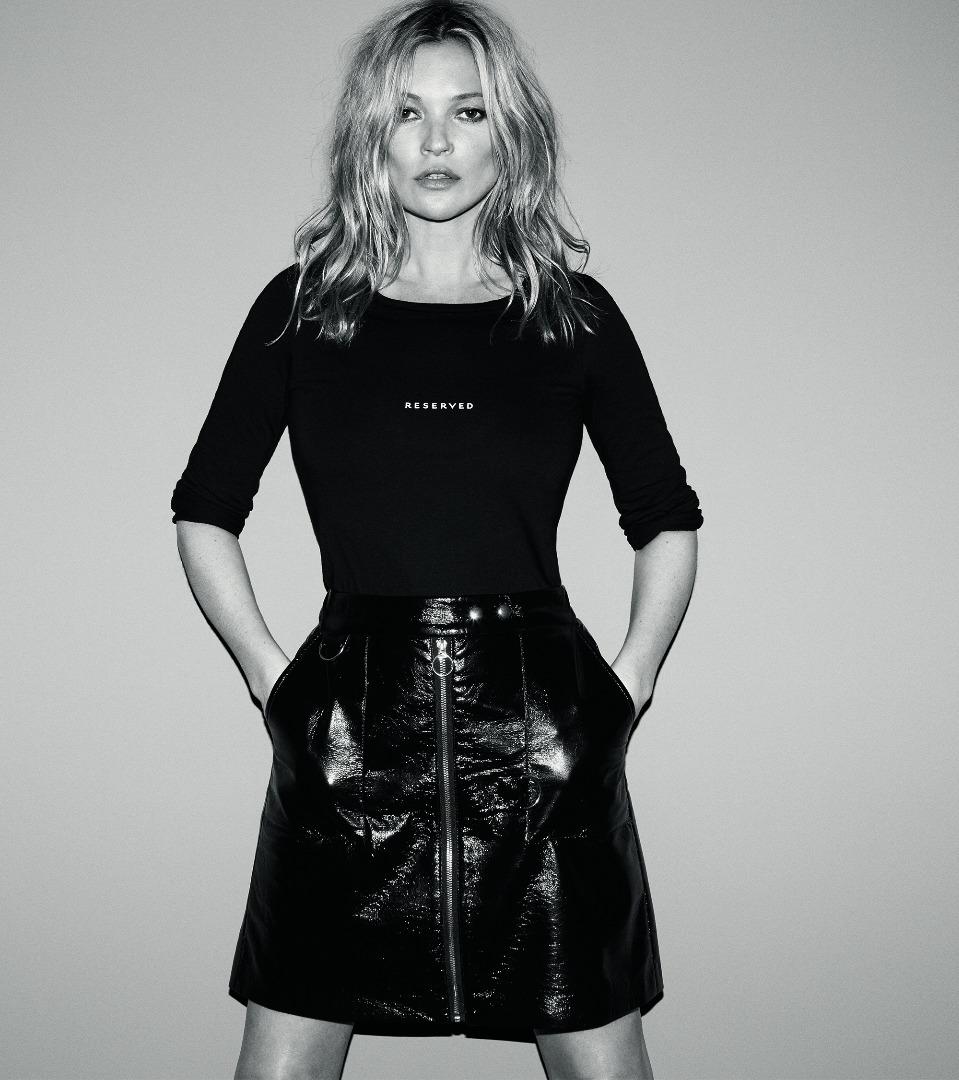 Kate Moss hvězdou nové kampaně Reserved podzim/zima 2017/2018