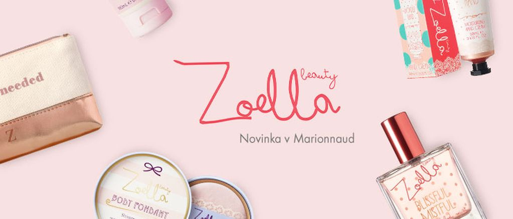 Vlogerka Zoella stvořila slaďoučkou kolekci kosmetiky