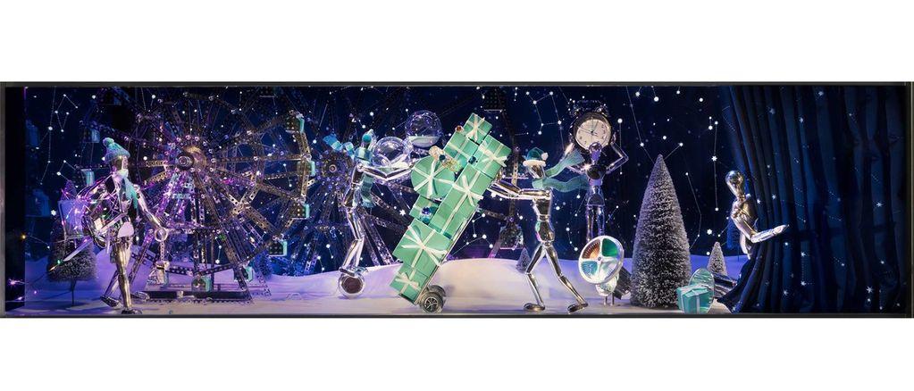 Okna do pohádky: Tiffany odhaluje vánoční výlohy