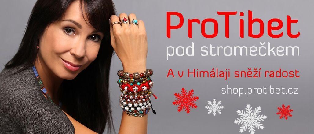 Dárky pro dobrou věc: kampaň ProTibet pod stromečkem a v Himálaji sněží radost