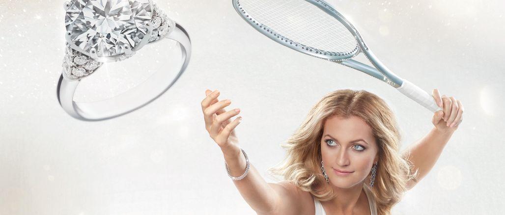 Podané s vášní: Petra Kvitová a Dominika Cibulková září v nové kampani ALO diamonds