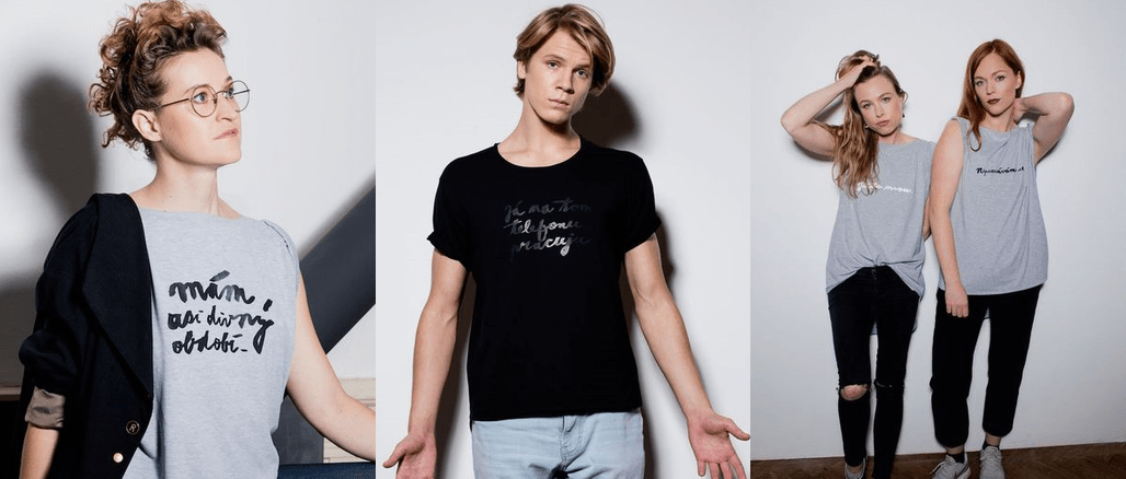 Manifesto: trička s nápadem od Ester Geislerové a Josefiny Bakošové