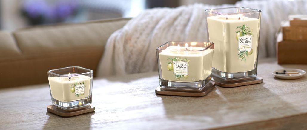 Yankee Candle se hlásí s novou elegantní kolekcí Elevation