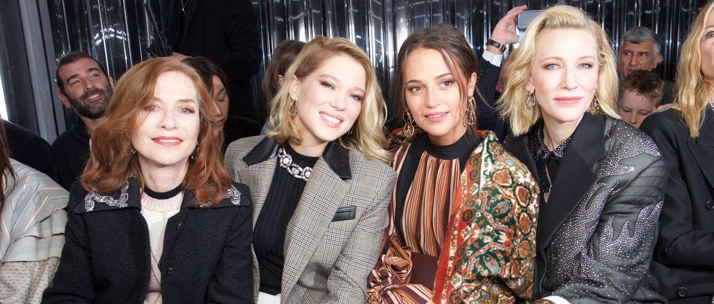 Celebrity na odhalení nové kolekce Louis Vuitton jaro/léto 2019!