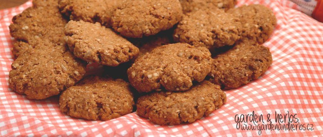 Recept podle Garden&Herbs: Křupavé ovesné sušenky