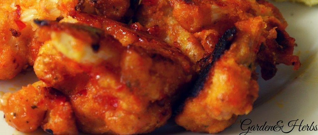 Recept podle Garden&Herbs: Květákové Hot Wings