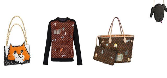 Louis Vuitton x Grace Coddington: kolekce Catogram nejen pro milovníky koček