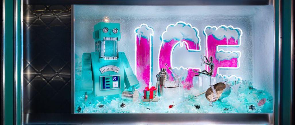 Tyrkysová fantazie: vánoční výlohy u Tiffanyho