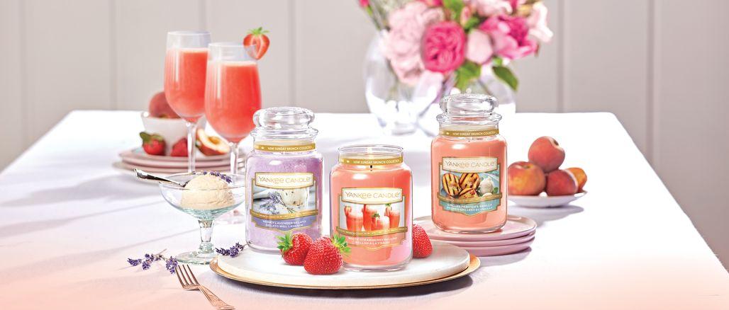 Grilované broskve nebo šampaňské s jahodami? Letní kolekce Yankee Candle je tu!