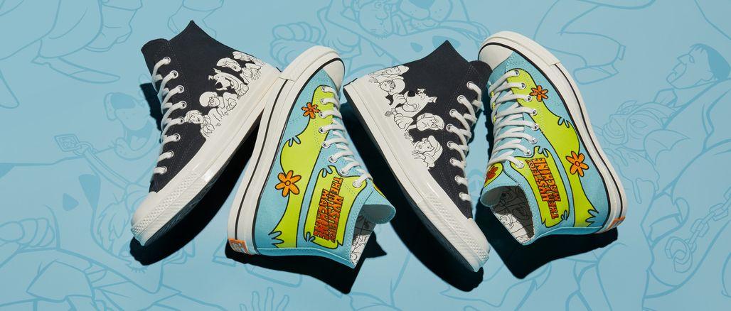 Converse x Scooby Doo: originální kolekce s nádechem nostalgie